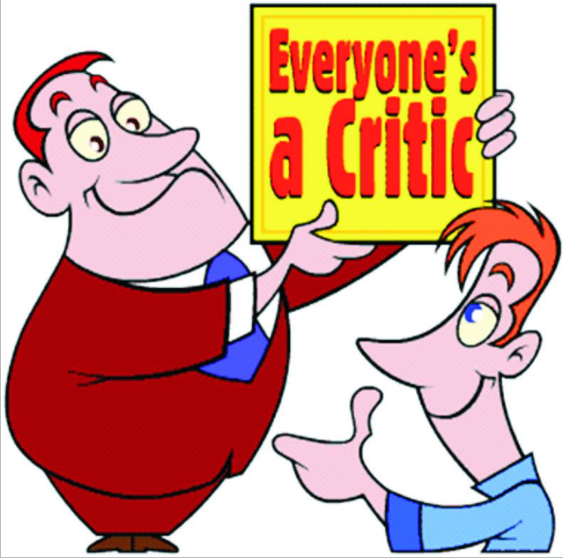 placerea de a critica